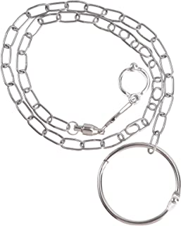 Accessories for Bird- 1Pc Parrot Stainless Steel Seperated Anklet Buckle Chain Circle Birds Foot Lock