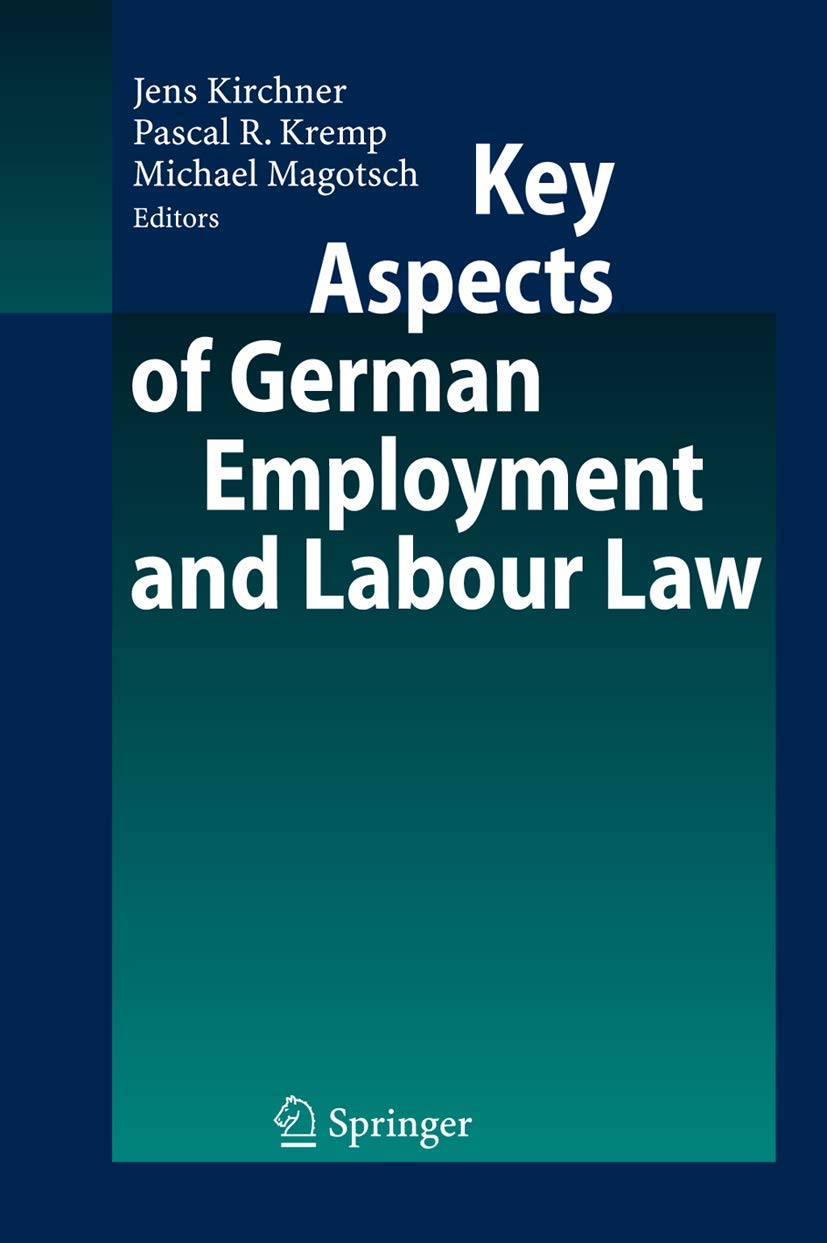 Download Key Aspects Of German Employment And Labour Law 