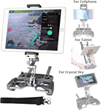 $39 » RCGEEK Compatible with DJI Drone Controller Tablet Mount Extender Holder with Lanyard Compatible with 10 inch Tablet Crystal Sky Monitor DJI Mavic Pro Mavic 2 Pro Mavic 2 Zoom Spark Mavic Air Remote