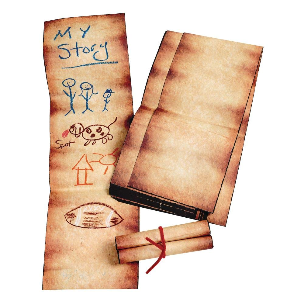 Roylco R15406 Roylco Rolly Scrolly Paper 32-pkg