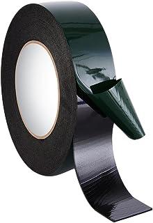 Kentop Foam Plakband, dubbelzijdig, Zwart, 12 mm, Sponge Roll Tape, Waterdicht, Montageband, Automotive, Licentiebord, Aut...