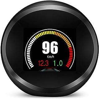 Romacci Display do HUD do carro, OBD + GPS Head Up Display de alta definição Computador de condução seguro Ferramenta de d...