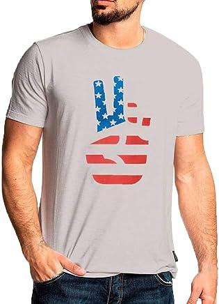 Jinjiums t shrits Mens o Neck tees,Funny Print t Shirts Big and Tall Short Sleeve tees Tunics Tops Graphic Blouse