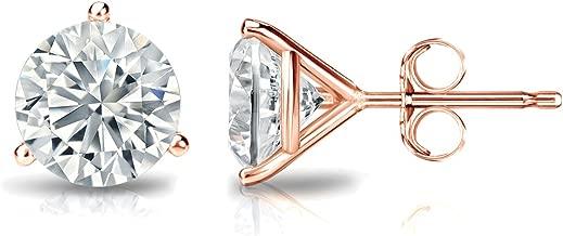 Best 3 prong martini diamond earrings Reviews