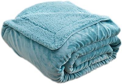 柔軟な温かい子供毛布オフィス/家庭の休みの毯、青、39.4x47.2x1.2のインチの#22
