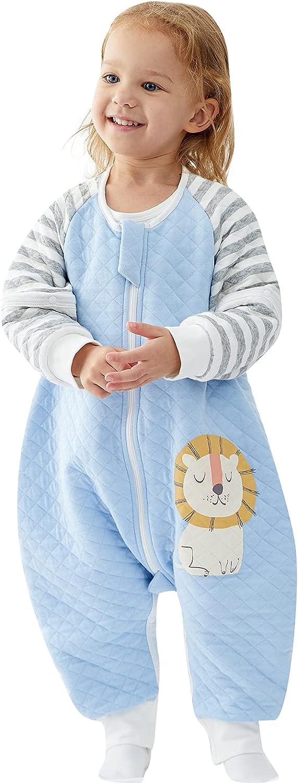 Sleep Sack Popular with Feet Long Sleeve Large-scale sale Baby Tog 1.5