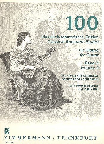 100 Klassisch Romantische Etueden 2 (41-70). Gitarre