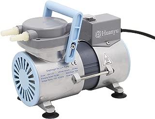 Huanyu Oilless Diaphragm Vacuum Pump Oil Free Anticorrosive Pump Industrial Lab 12L/min (Ordinary Type, GM-0.2(Single Head))