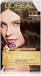 L'Oreal Superior Preference - 5A Medium Ash Brown (Pack of 3)