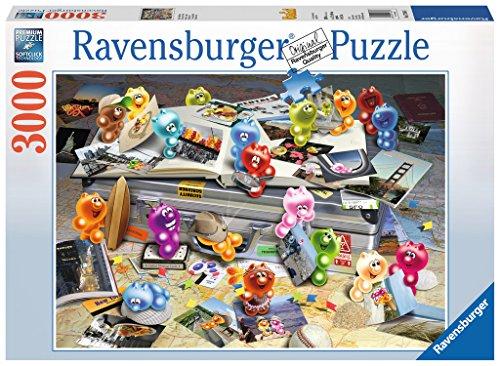Ravensburger Puzzle 17064 - Gelini auf Reisen - 3000 Teile