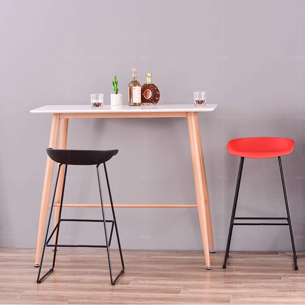 Chaises de Salle à Manger rembourrées pour Le matériau de la Cuisine PP/siège incurvé/Chargement 150KG / Noir, Blanc 2 Couleurs au Choix Black + Black Legs