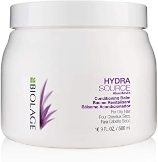 BIOLAGE Hydrasource Conditioning Balm | Hydrates, Nourishes & Detangles Dry Hair | Sulfate-Free | For Medium To Coarse Hai...