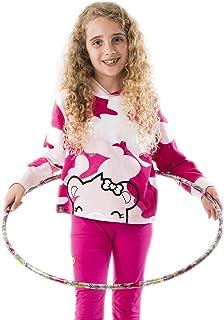 Build-A-Bear Girls and Toddlers Camo Print Long Sleeve Hoodie Sweatshirt