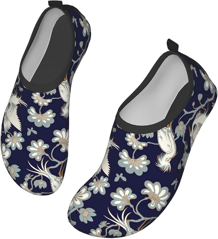 Japanese Floral Pattern Cherry Blossom Classic Japanese Wave,Umbrella,Kimonos,Sakura(5) Water Shoes for Womens Mens Summer Barefoot Shoes Quick Dry Aqua Socks for Beach Swim Yoga Exercise