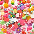 Mosheng Accessory 40pcs Mix Lots Resin Flatback Rabbit Cherry Butterfly Art Album Flatback Scrapbooking Embellishments DIY Scrapbooking Craft Accessory