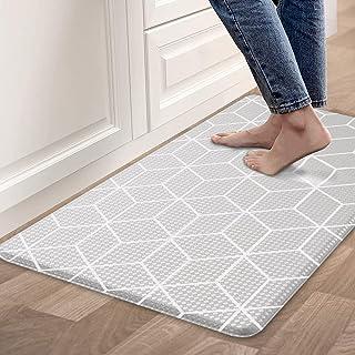 Kitchen Rugs Mat Anti Fatigue Comfort Cushion Floor Mats, Non Slip Waterproof Kitchen Mats, Suitable for Kitchen, Laundry,...