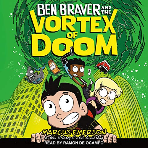 Ben Braver and the Vortex of Doom Audiobook By Marcus Emerson cover art