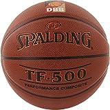 Spalding TF 500 DBB 30015030102 - Pallone da Basket, 500, Arancione (Arancione), 7
