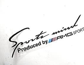 Eppar New Sport Mind Headlight Sticker 1PC for Mercedes Benz C-Class Cabriolet (A205) 2016-2019 C180 C200 C220 C250 C300 C400 GLS350 GLS400 GLS500 (Black)