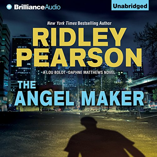 The Angel Maker audiobook cover art