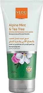 VLCC Alpine Mint & Tea Tree Gentle Refreshing Face Wash 150 ml, Pack of 1