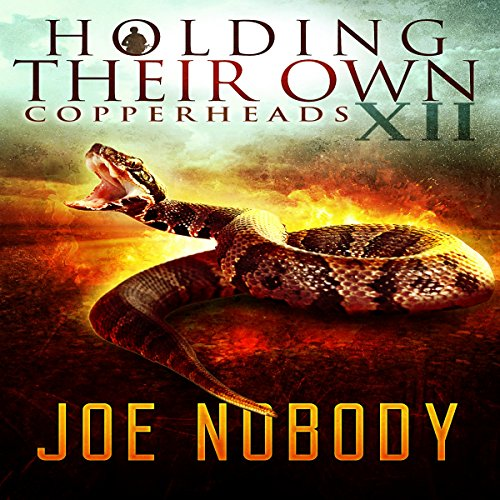 Copperheads audiobook cover art