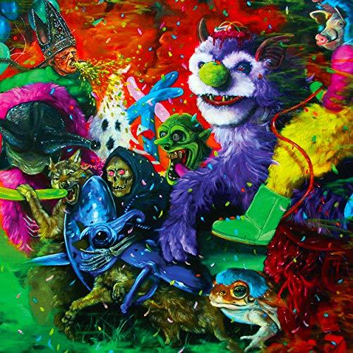 Laughing Death In Meatspace (slime Green Vinyl)