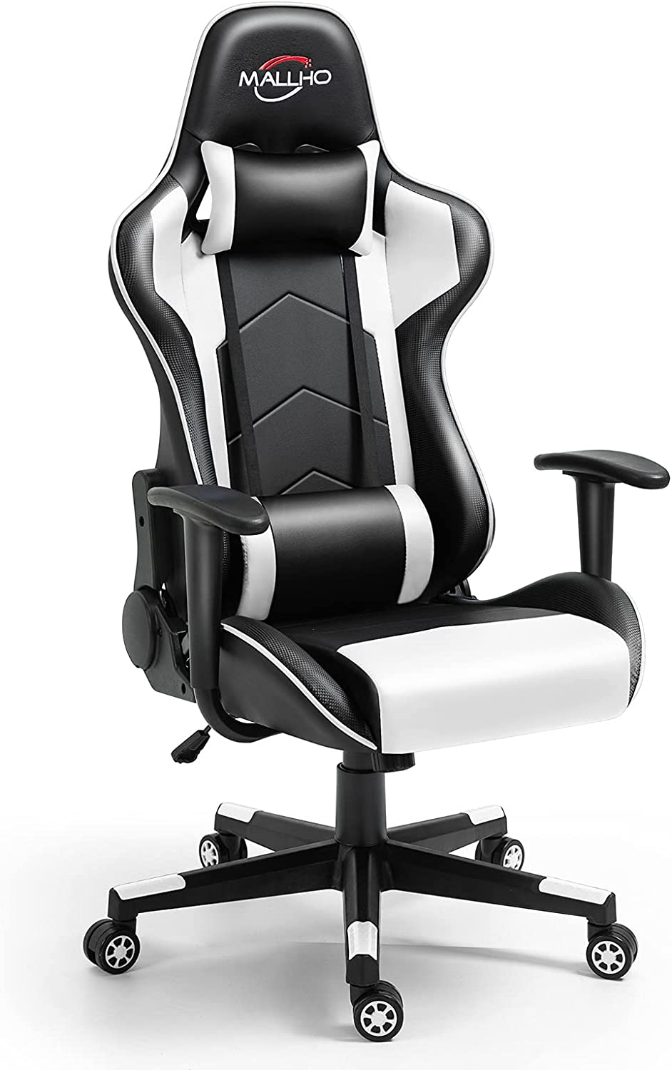 Polar Aurora Gaming Chair Racing PU Detroit Mall Style Offi High-Back It is very popular Leather