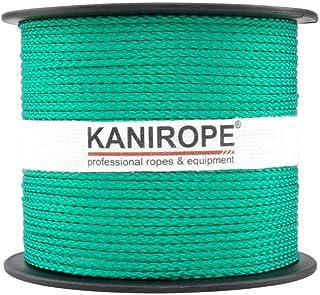 Kanirope PP Seil Polypropylenseil MULTIBRAID 1mm 100m Farbe Grün 0117 8x geflochten