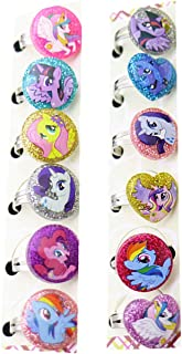 Kerr`s Choice Pony Rings Party Favors Party Supplies My Pony Birthday Party Favors (12 Pieces)