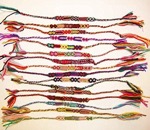 Firlefantastisch Indianerarmband 20 Stück Baumwolle