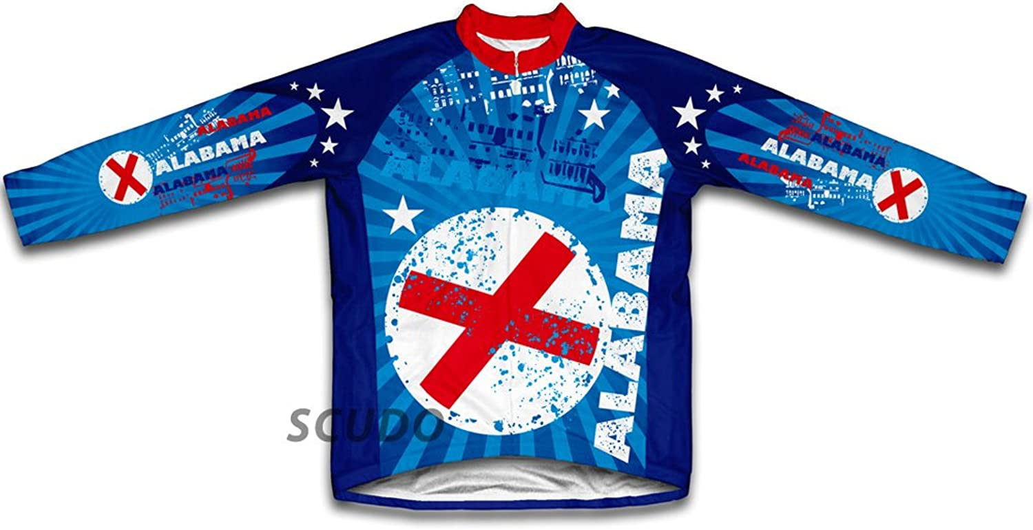 Alabama Winter Thermal Cycling Jersey for Women