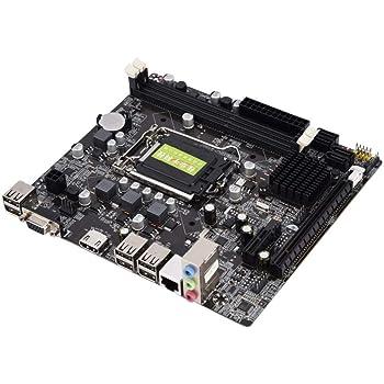 LGA 1155マザーボード DDR3メモリ/ファストイーサネット/ 4 USB2.0 / HDMI/VGA 高解像度 高性能 高効率 高精細 ソリッドステートマザーボード デスクトップPCメインボード