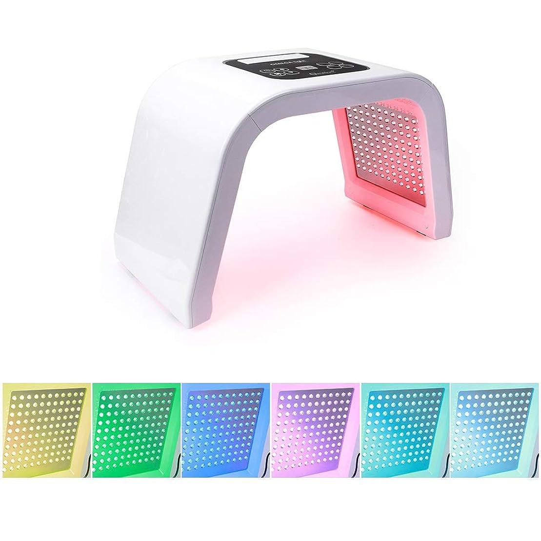 工業用理解管理PDT 7色ledライト美容光力学ランプにきび治療スキンケア機若返りフェイシャルマシンボディ美容スキンケア光子療法機