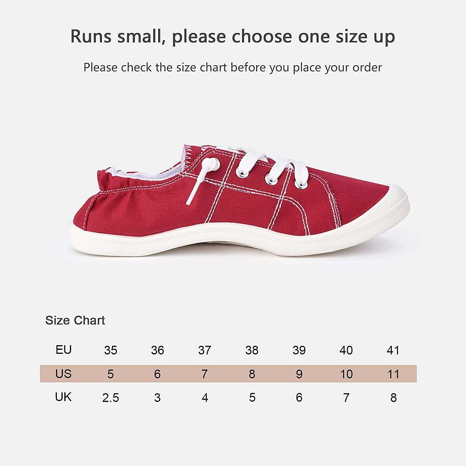 Sowift Womens Slip-On Canvas Sneakers Low Top Walking Shoes Casual Comfort Shoes