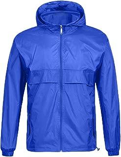 Rain Coat for Men Waterproof Hooded Rainwear