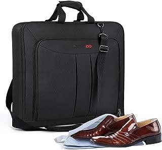 YOUNGDO ガーメントバッグ ガーメントケース 防水防塵 型くずれ防止 持ち運び スーツカバー スーツバッグ ポケット付き 出張 ビジネス 冠婚葬祭 収納ケース 専門の靴バック メンズ 一年安心保証付き