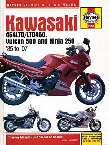 Kawasaki 454 Ltd, Vulcan 500 & Ninja 250 (85 -07) (Haynes Service & Repair Manual)