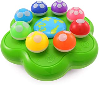 BEST LEARNING Mushroom Garden - Interactive Educational Light-Up Toddler Toys for 1 to 3 Years Old Infants & Toddlers - Co...