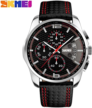 Amazon.com : IBANSE Mens Sports Analog Quartz Watch Dual Display Waterproof Digital Watches LED Backlight relogio Masculino El Movimiento de Los relojes ...