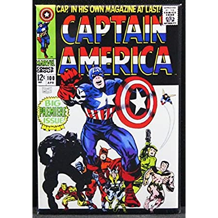 Captain America Comics #13 FRIDGE MAGNET comic book