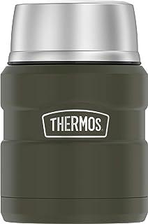 Thermos King 16 Ounce Jar, 16 oz, Army Green