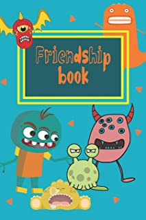 Friendship Book: Memories Book For Kids With Questionnaire For Their Classmates And Friends