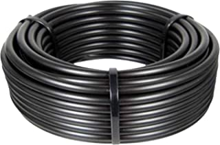 Mainline Drip Irrigation Tubing Poly Rigid Pipe, Use with 5/8-Inch Fittings, Rain Bird Tubing Replacement, 100-Foot Length