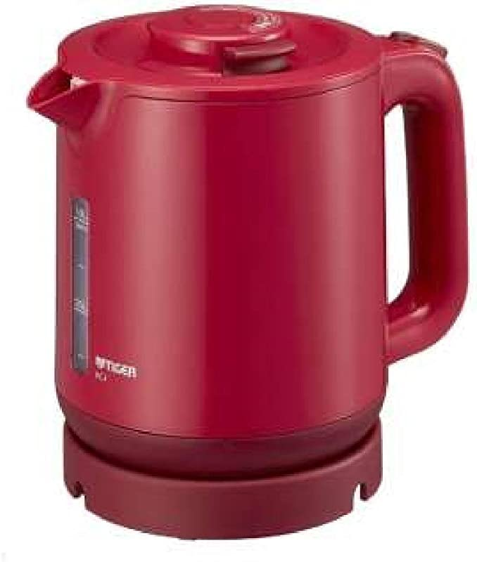 TIGER Steam Less Electric Kettle 1 0L WAKUKO PCJ A101 R Red Japan Domestic Genuine Products