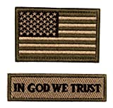 Tactical Patches of USA American Flag & in...