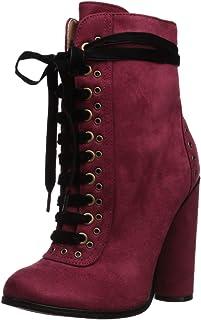 Michael Antonio Women's Cassidy Ankle Boot, cranberry, 6 M US