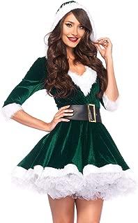 green elf dress