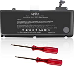 Kelibo New A1322 Replacement Laptop Battery Compatible with MacBook Pro 13 inch A1278 Battery (2012 2011 2010 2009 Version) MB990LL/A MB991ll/A MC374ll/A MC375LL/A MC700ll/A MD101LL/A MD102LL/A