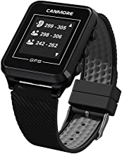 CANMORE TW-353 GPS Golf Watch - Key Course Data and Scorecard on Your Wrist - Minimalist & User Friendly - 38,000+ Free Courses Worldwide and Growing - 4ATM Waterproof - 1-Year Warranty (Black)